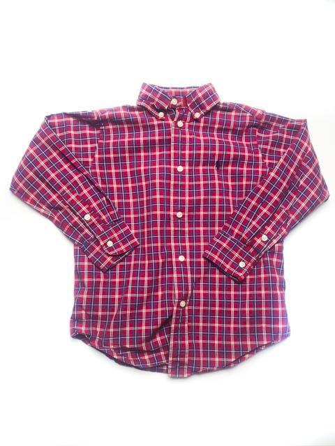 Ralph Lauren button-up 5Y-Fresh Kids Inc.