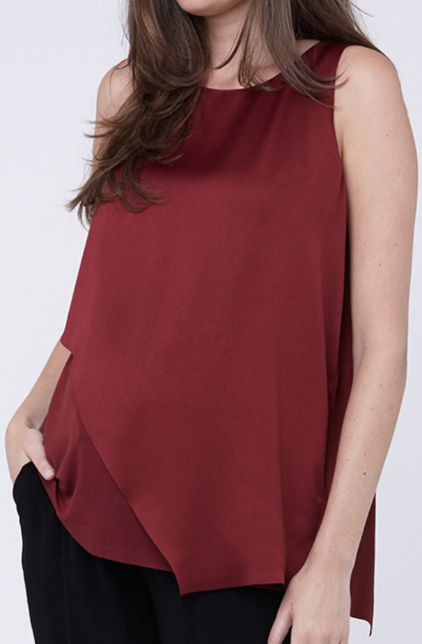 Ripe Asymetric maternity/nursing top - x-small-Fresh Kids Inc.
