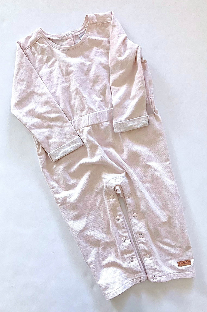 Robeez romper light pink 12-18m-Fresh Kids Inc.