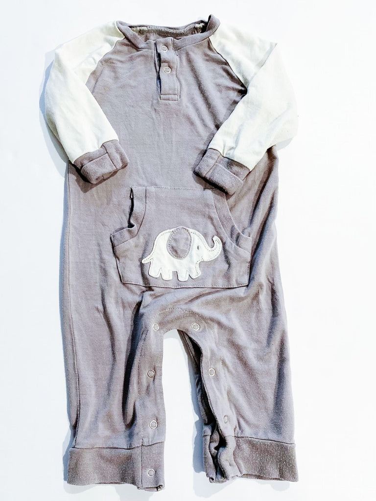 Silkberry romper 3-6m-Fresh Kids Inc.