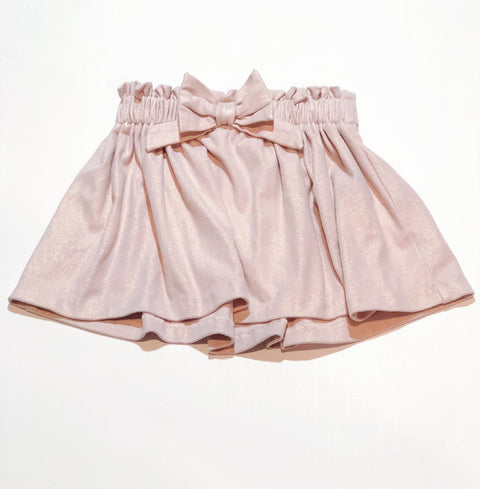 skirt - metallic pink - size 2