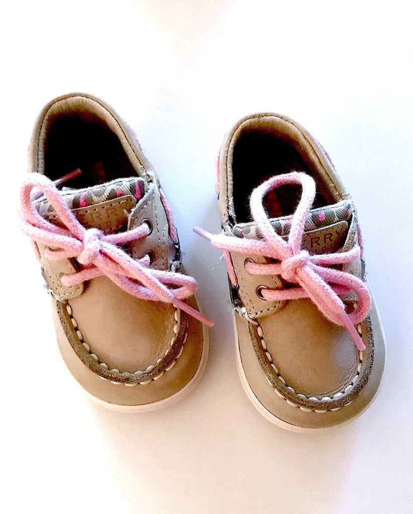 Sperry Top-siders size 2 (3-6m) BRAND NEW IN BOX-Fresh Kids Inc.