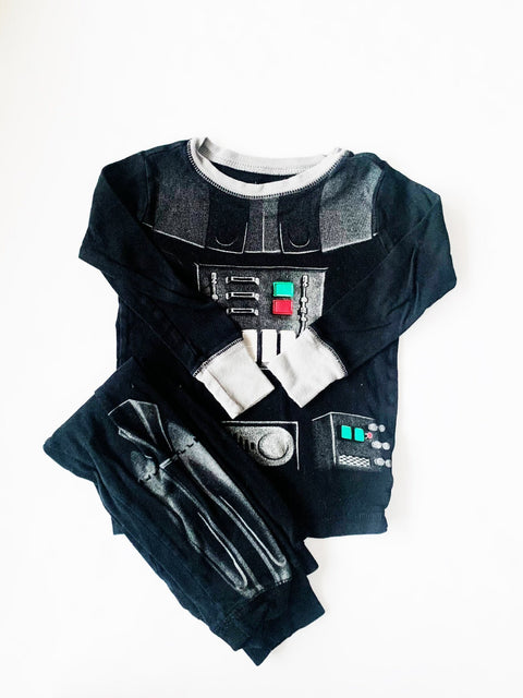 Star Wars pajama set size 6