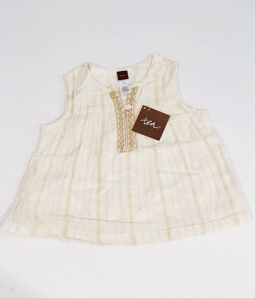 Tea Collection top size 4 BRAND NEW-Fresh Kids Inc.