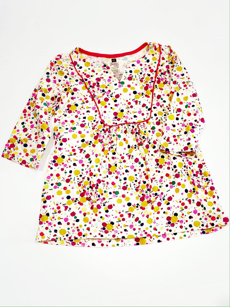 Tea Collection tunic top size 7-Fresh Kids Inc.
