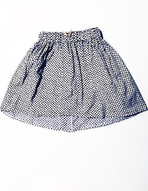 The Crafted polka skirt size 1-2