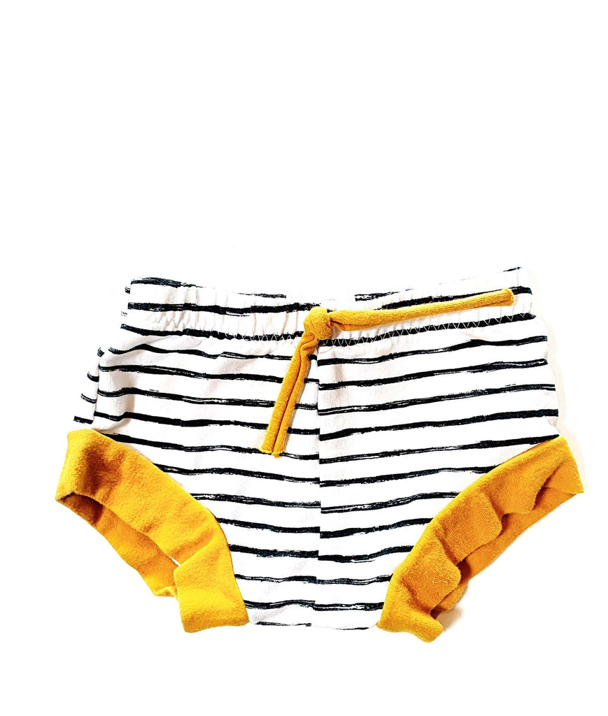The Stiched Arrow shorties size 6-9m-Fresh Kids Inc.