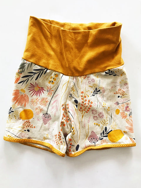 The Tiny Hedgehog harem shorts 18-24m