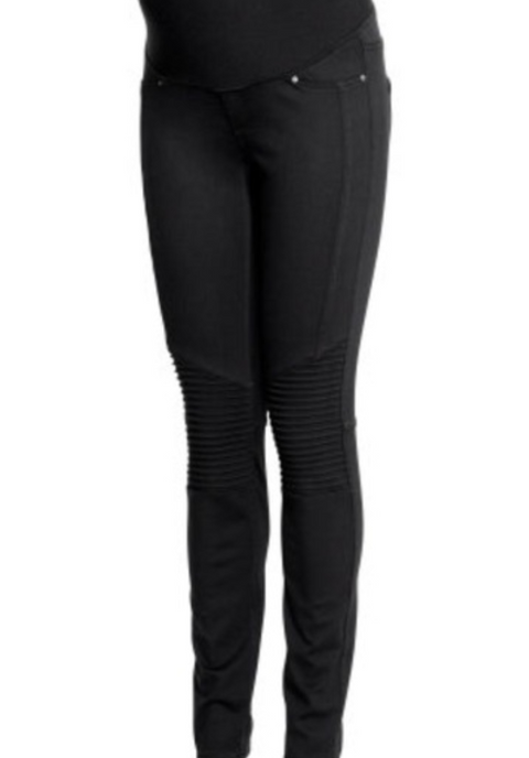 Thyme Maternity black skinny pants - x-small