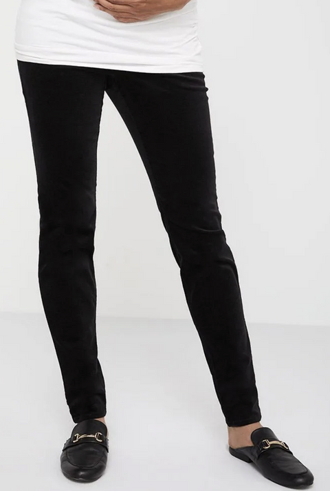 Thyme Maternity skinny black cords - x-small