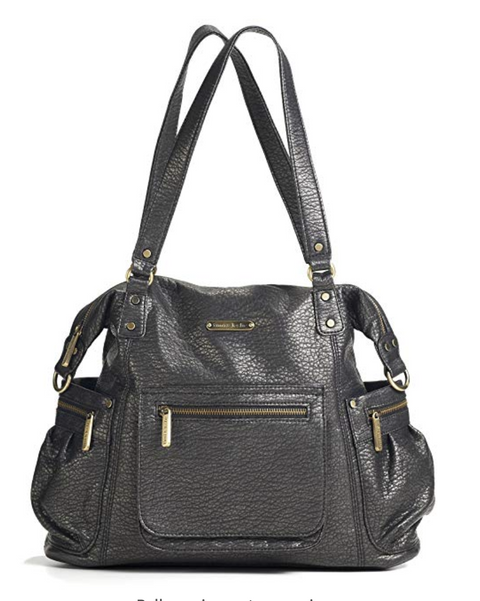 "Timi & Leslie diaper bag ""Abby"" in graphite"
