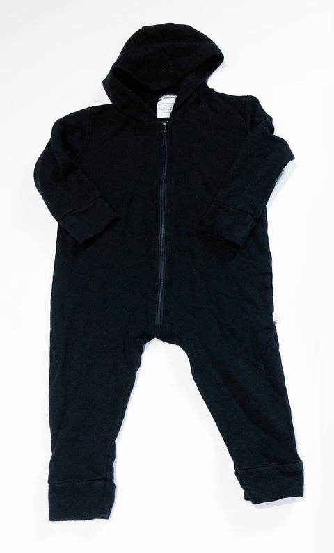 Tiny Button Apparel romper zip hoodie size 1-2T-Fresh Kids Inc.