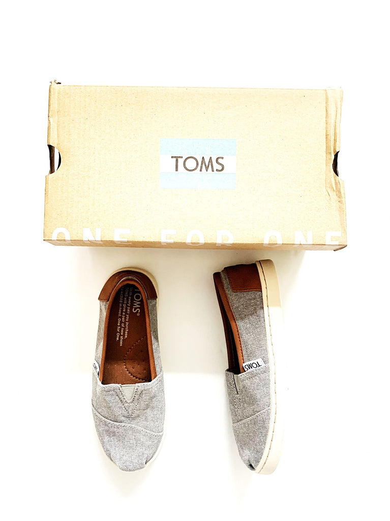Toms size 12.5 NEW-Fresh Kids Inc.