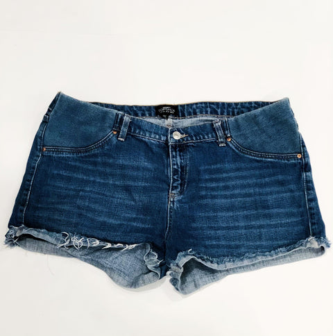 Top shop Maternity denim shorts size US 12
