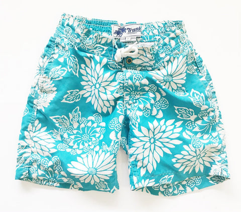 Trunks floral swim trunks sz 3T