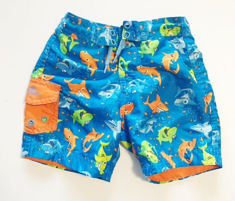 Uv skins swim shorts sz 12-18m