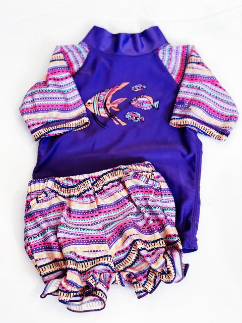 UV skins swimsuit 12-18m