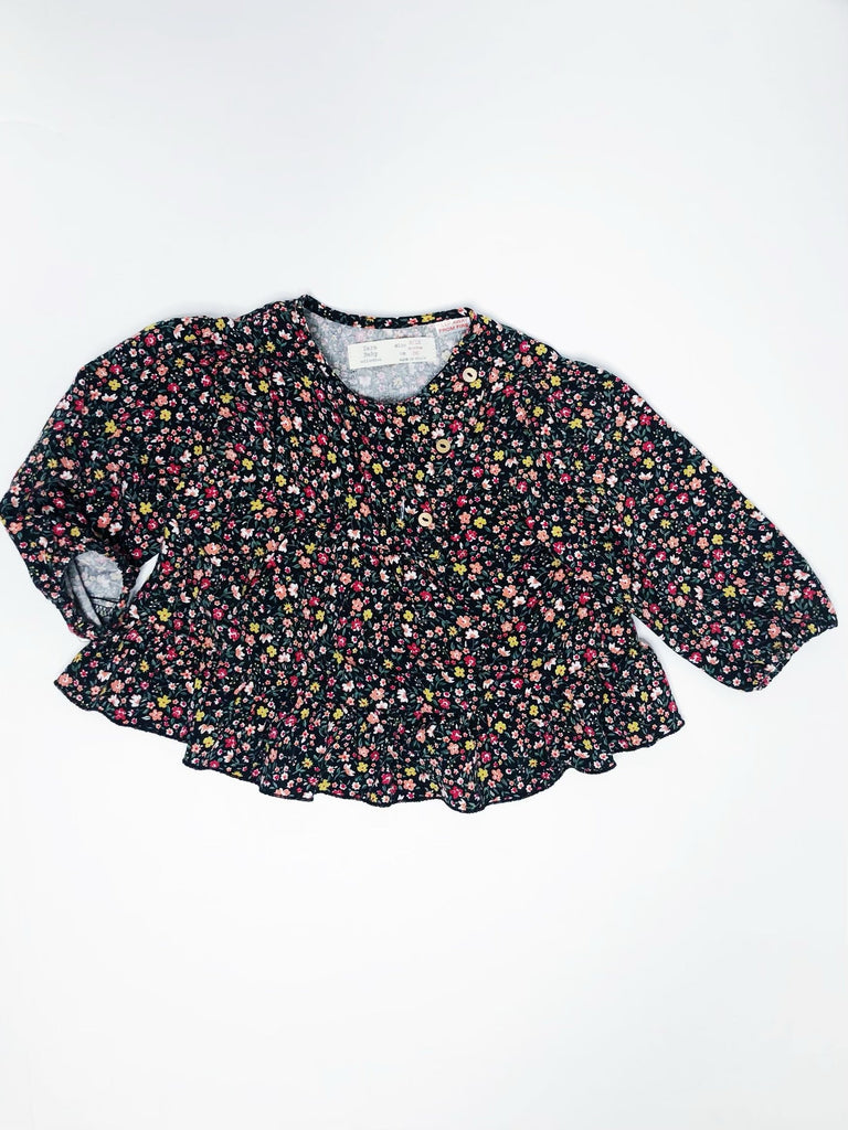 Zara blouse 6-9m-Fresh Kids Inc.