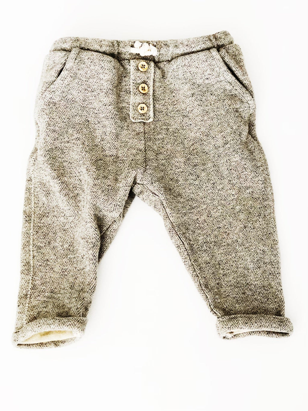 Zara bottoms - soft harems - 9-12m-Fresh Kids Inc.