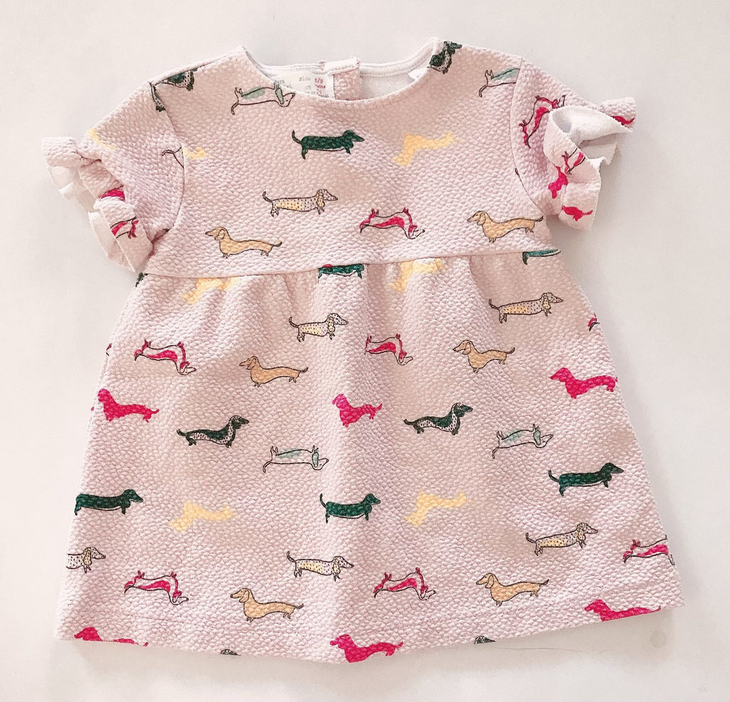 Zara dress 6-9 m-Fresh Kids Inc.