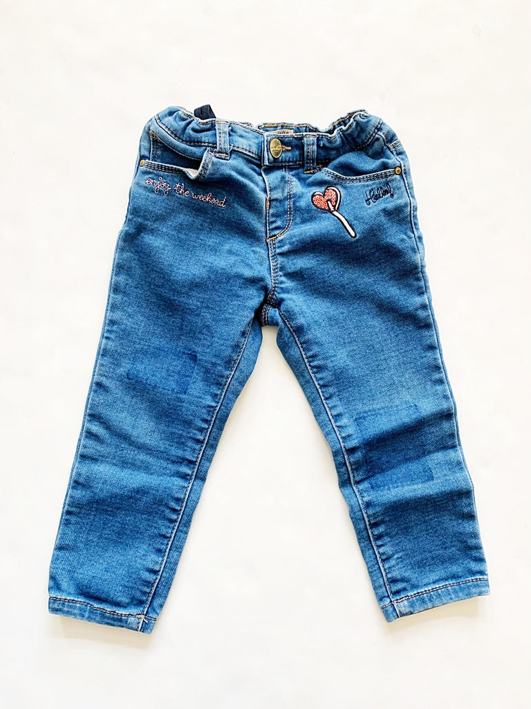 Zara jeans size 12-18m-Fresh Kids Inc.