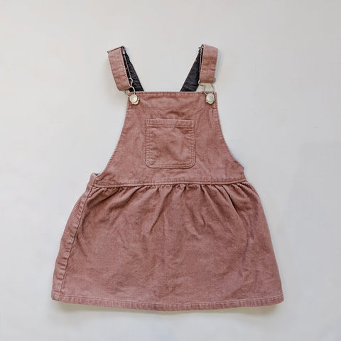 Zara Overall Dress Size 2-3