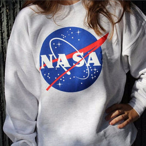 Nasa Pullover Sweater - Jackets & Sweaters - weartogiv - weartogive - wear to give - Philanthropy meets fashion with weartogiv.org. Philanthropy never looked so good! - Wear to giv - Where to give