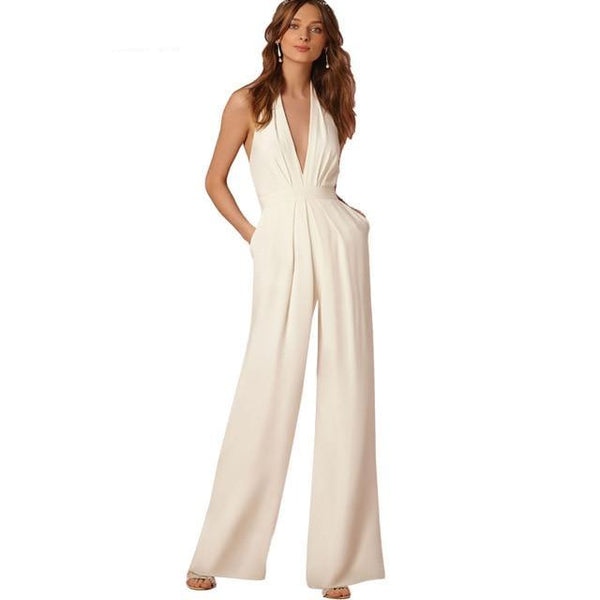 Jaclyn Jumpsuit - Rompers - weartogiv - weartogive - wear to give - Philanthropy meets fashion with weartogiv.org. Philanthropy never looked so good! - Wear to giv - Where to give