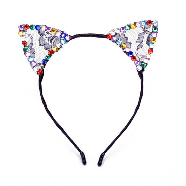 Bezel Cat Ears -  - weartogiv - weartogive - wear to give - Philanthropy meets fashion with weartogiv.org. Philanthropy never looked so good! - Wear to giv - Where to give