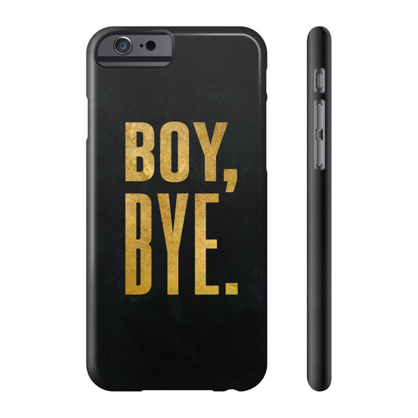 Boy Bye Phone Case