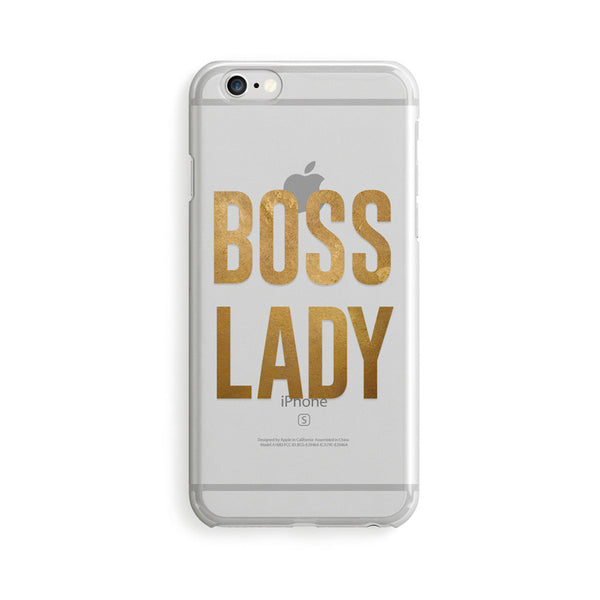 Boss Lady iPhone 5/6/6+ Case - NerdyFab