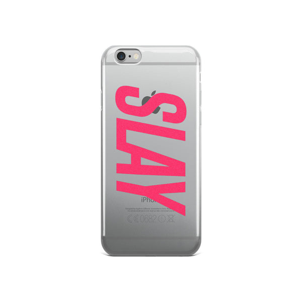 Slay iPhone 5/6 Case – Clear