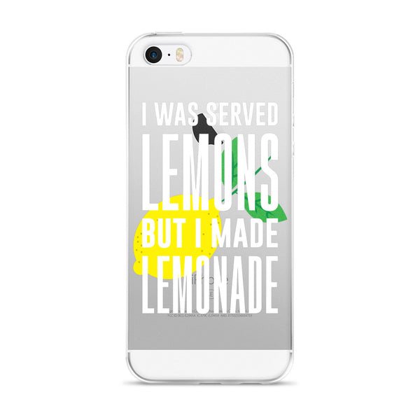 I Was Served Lemons But I Made Lemonade iPhone Case