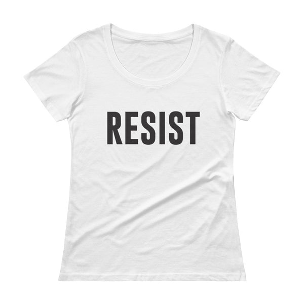 Resist Ladies' Scoopneck T-Shirt