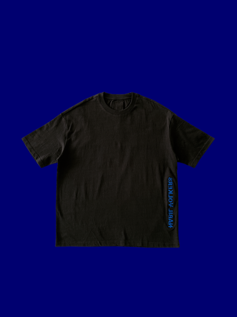 Logo Oversized T-Shirt in Black
