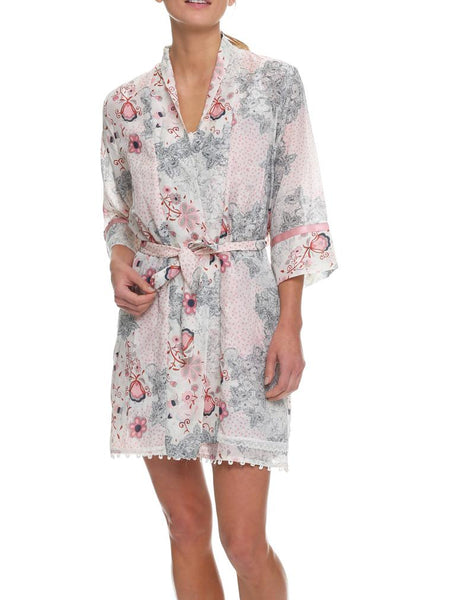 Silk and Cotton Blend Robes