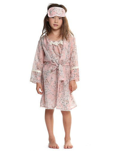 Girls Cherry Blossom Robe