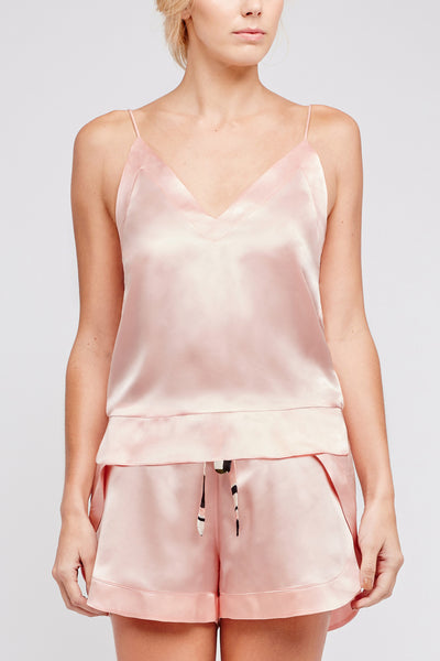 Hesper Fox NYX Silk Cami in Charleston Pink