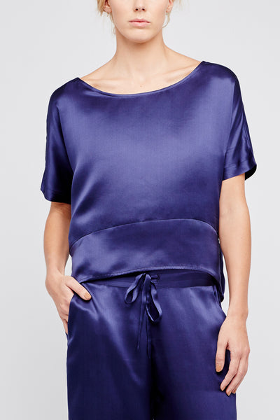 Hesper Fox Hemera Silk Top