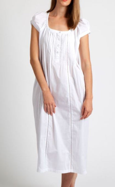 Arabella Cotton Cap Sleeve Nightie