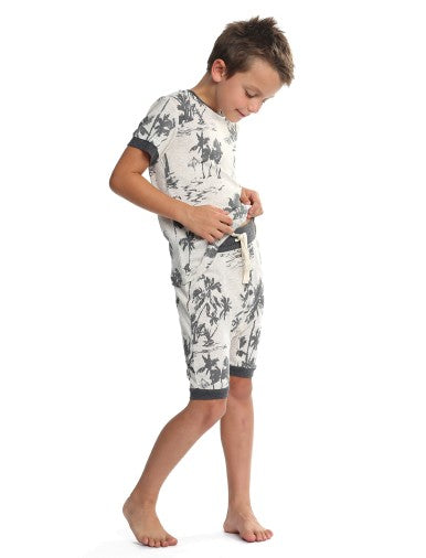 Boys North Shore Harem PJ Set