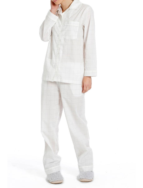 Cubic White PJ Set