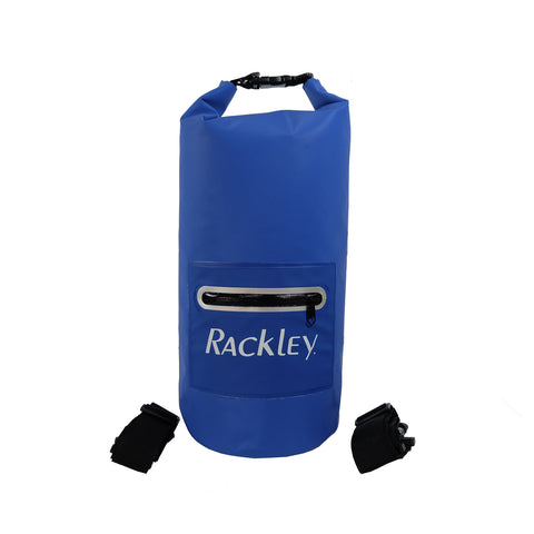 Waterproof Backpack Dry Bag with Outer Zipper - 10 litres