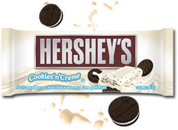 Chocolate Hersheys Blanco
