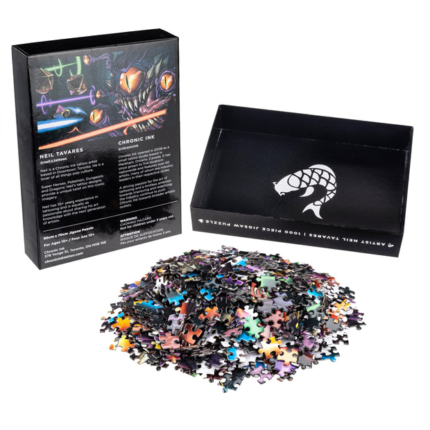1000 Piece Jigsaw Puzzle - Neil Dungeons and Dragons