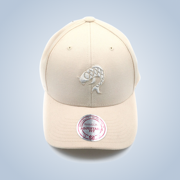 Mitchell & Ness x Chronic Ink classic logo sports cap - Beige
