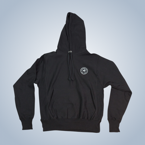 Champion x Chronic Ink 10 Years Badge Pullover Hood - Black