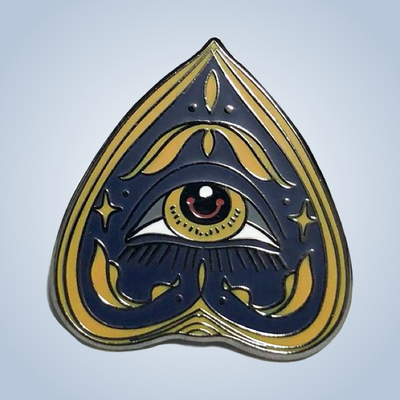 Chronic Ink Artist Series Enamel Pin - Ouija