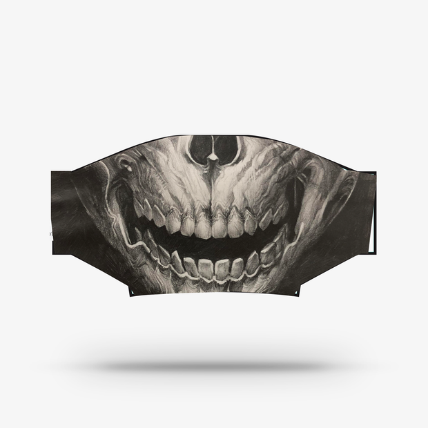 Polyester Face Mask - Skull by George