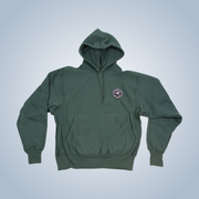 Champion x Chronic Ink 10 Years Badge Pullover Hood - Forest Green